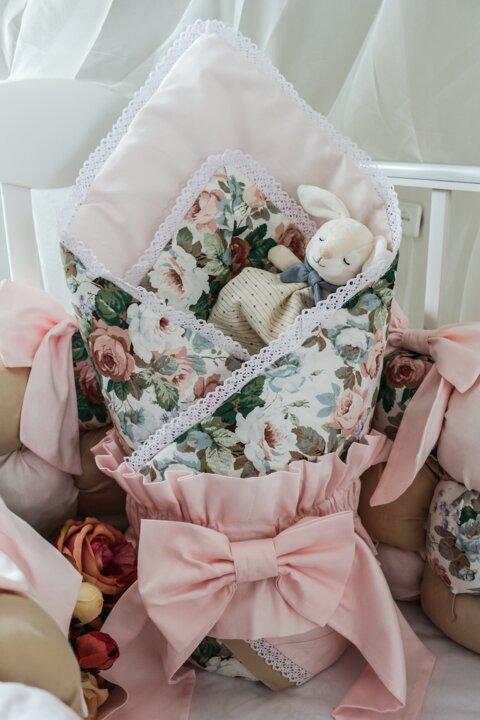 Одеяло для малышей в кроватку
